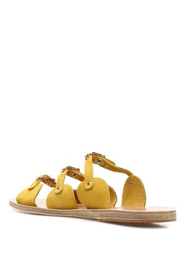 Ancient Greek Sandals Terlik Sarı